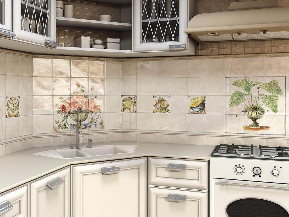Купить керамическую плитку <b>для</b> кухни на фартук в интернет ...