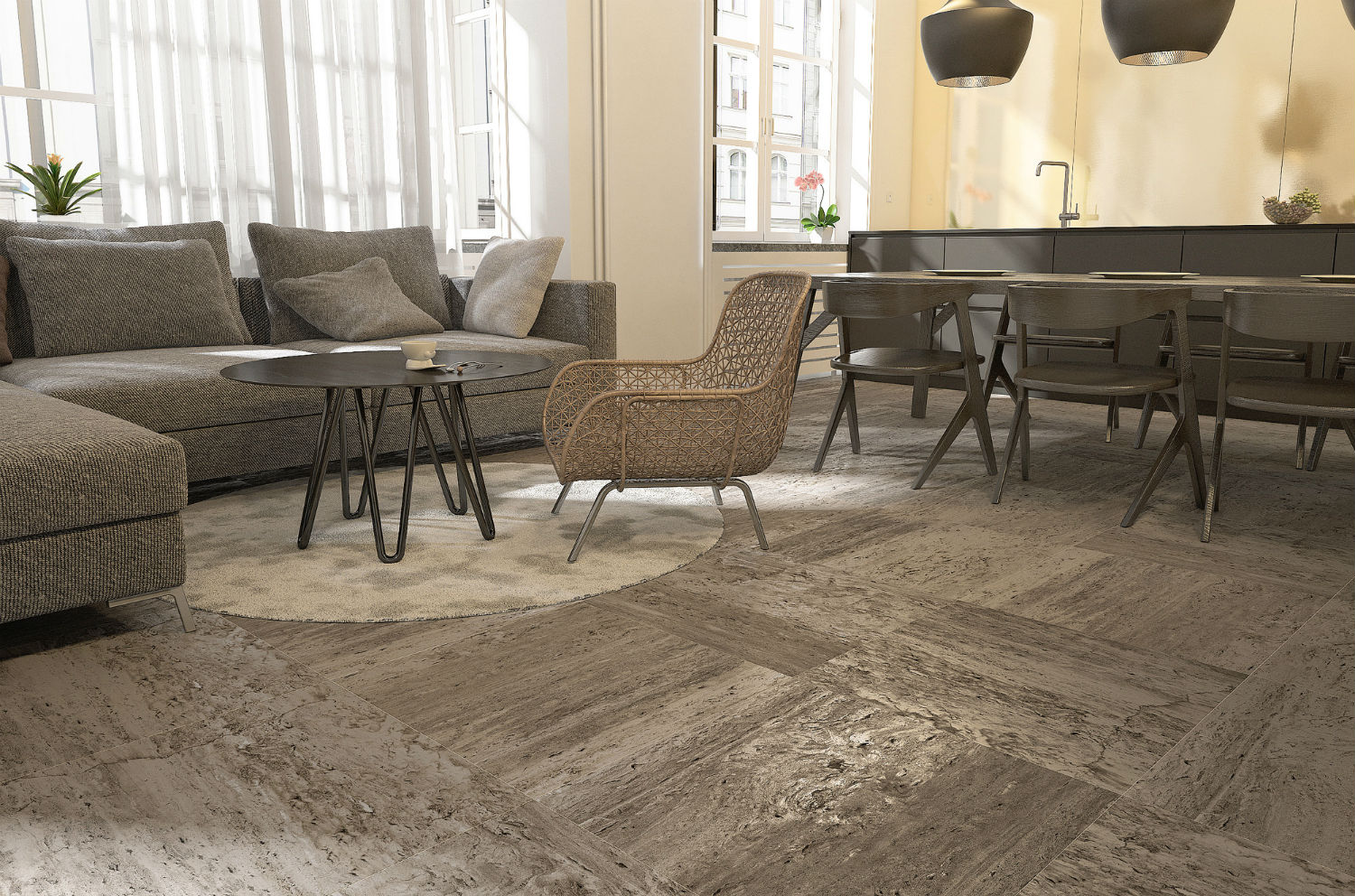 Travertine Terragres
